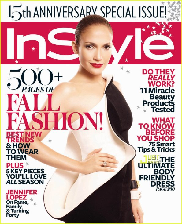 Jennifer Lopez (In Style Magazine)