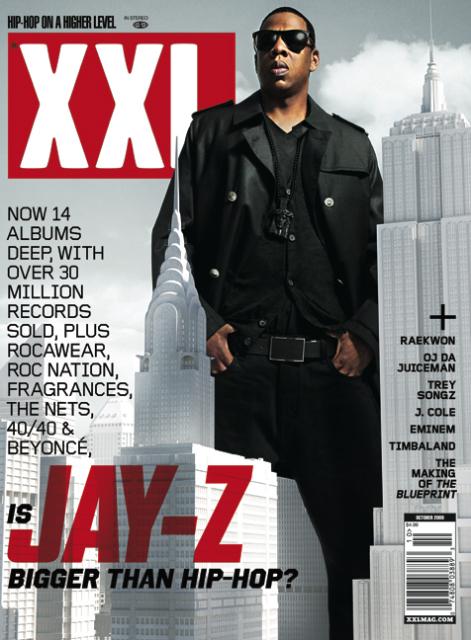 Jay-Z XXL Magazine Cover