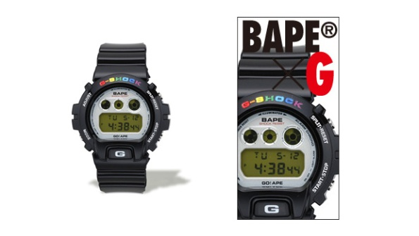 A Bathing Ape Bape Casio G-Shock Pic