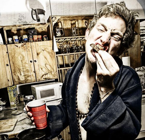 Asher Roth Eating Pic