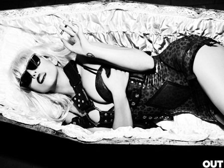Lady Gaga Out Mag Spread 3