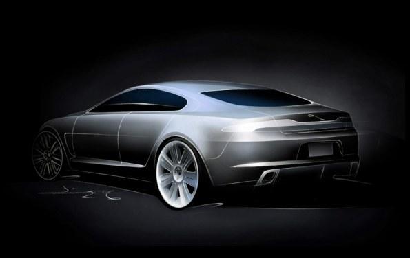 Jaguar C-XF Concept Sketch