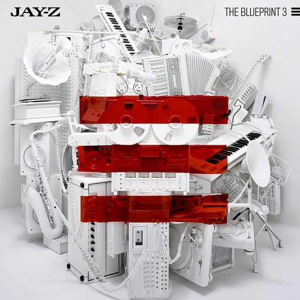 Jay-Z The Blueprint 3 Cover