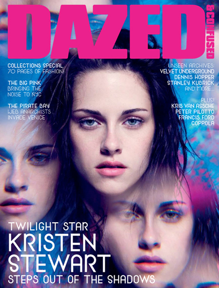 Kristen Stewart Dazed And Confused Magazine Cover