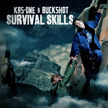 KRS One Buckshot Survival Skills Album Cover