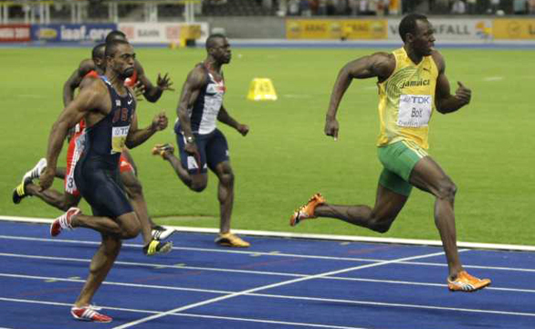 Usain Bolt 100m World Record