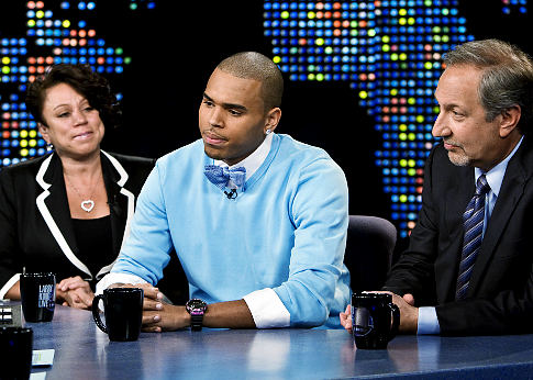 Chris Brown On The Larry king Show