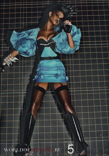Rihanna Vogue  Pic 5
