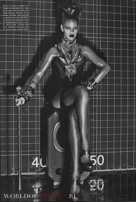 Rihanna Vogue  Pic 4