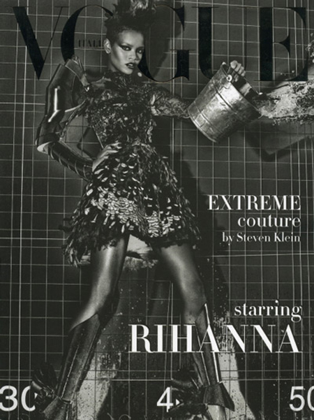 Rihanna Vogue Cover Pic 1